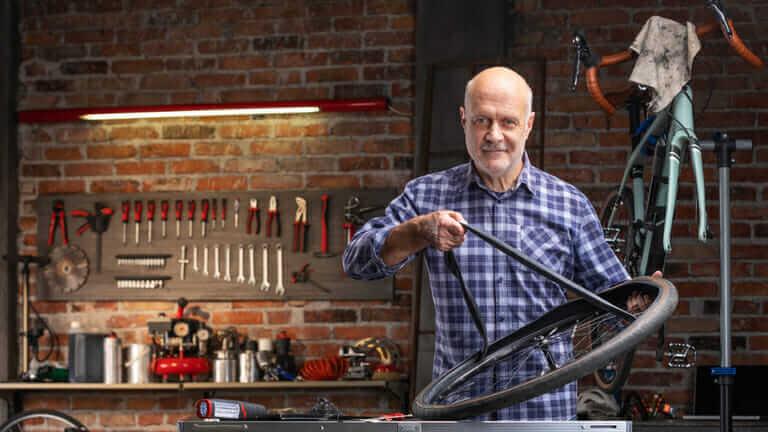 自転車屋さんの技術