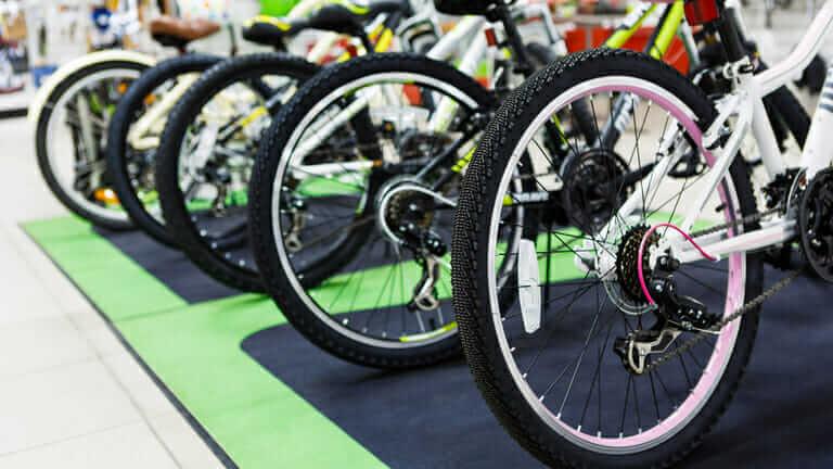 自転車屋さん