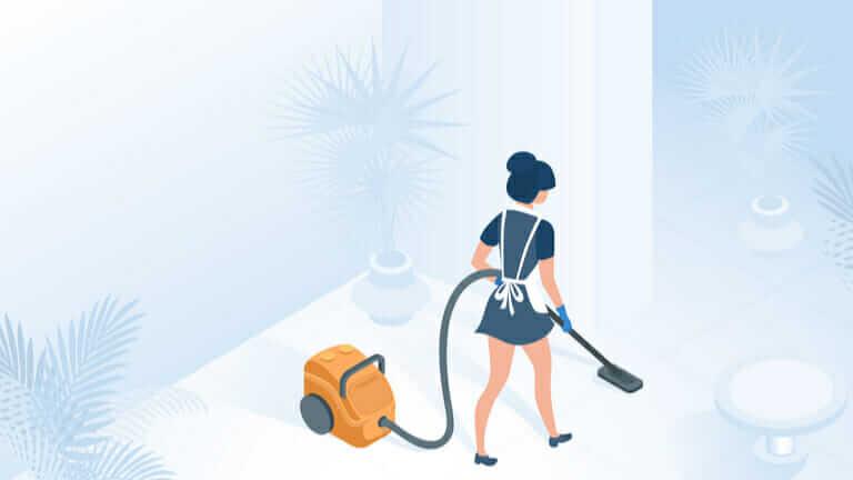 玄関 掃除機