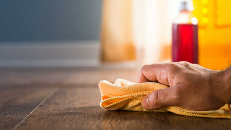 フローリング 掃除 キッチンペーパー